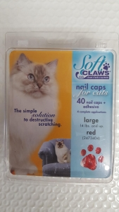 Soft Claws Feline Large - Red