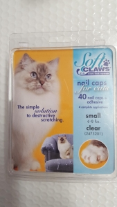 Soft Claws Feline Small - Clear