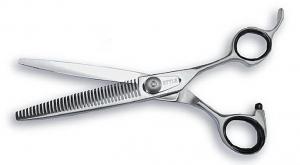 """Style 6.5"""" Grooming Scissors - W Teeth"""