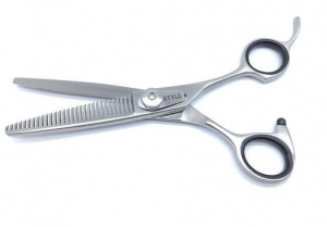 "6""  ProGroom Grooming Scissors - W Teeth"