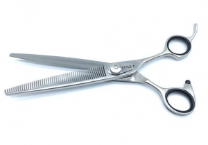 "7"" ProGroom  Grooming Scissors - V Teeth"