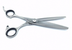"6.5""  ProGroom Left Handed Grooming Scissors - - W Teeth"