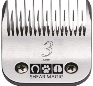 Shear Magic #3 Skip Tooth Steel Blade