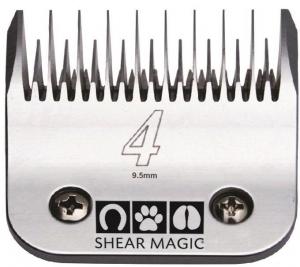 Shear Magic #4 Skip Tooth Steel Blade