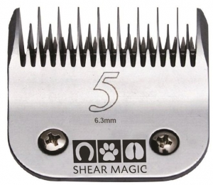 Shear Magic #5 Skip Tooth Steel Blade