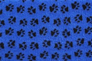 ProFleece Premium Dry Vet Bed NON-SLIP 100cm x 75cm - Blue/Black
