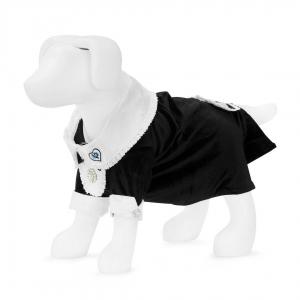 F&R for VP Pets Fleece Hoodie - Blue/Black - XS